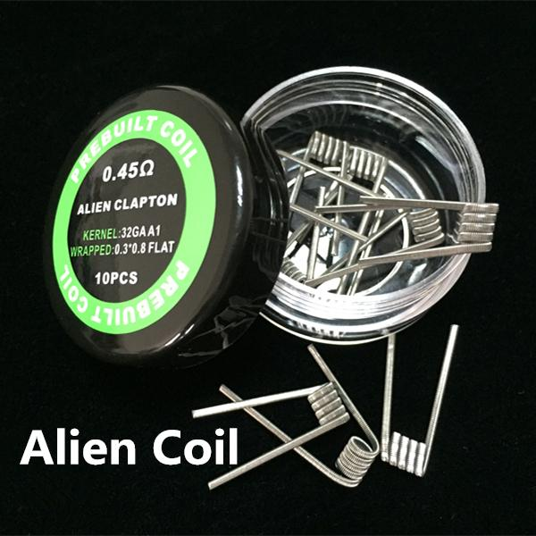 Mix Twisted Wire Fused Clapton Coils Hive Premade Wrap Wires Alien ...