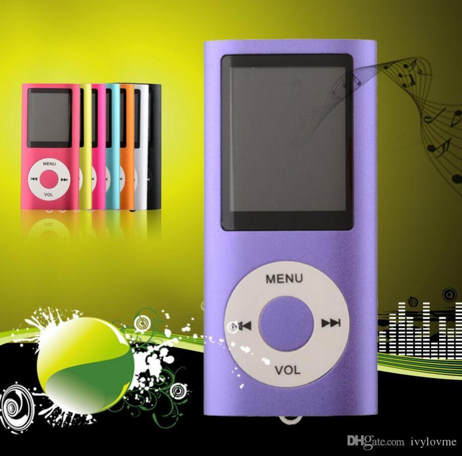 NOVA 4ª Genera MP3 MP4 Player Slim 4TH 1.8