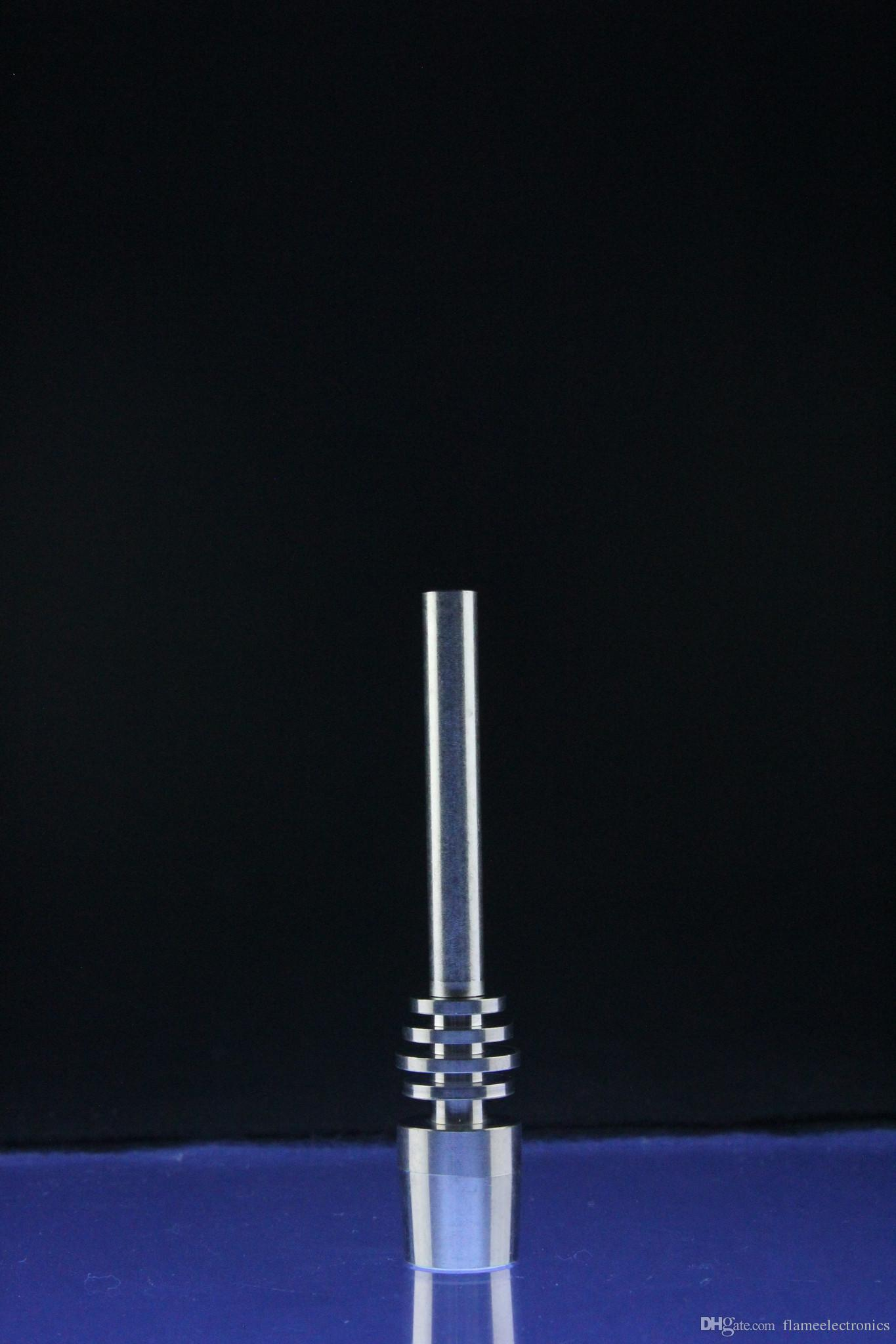 Super Titanium Nectar Collector Tip Titanium Nail 10mm 14mm 18mm Inverted Nail Grade 2 Titanium Tip Ti Nail For Nectar Collector Glass