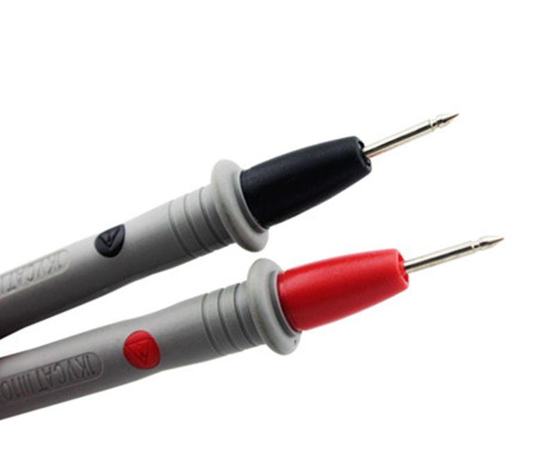 Красный цифровой Амперметр вольтметр мультиметр DMM DC AC напряжение Измеритель тока тестер диод емкость hFE тест Multimetro SNT18A