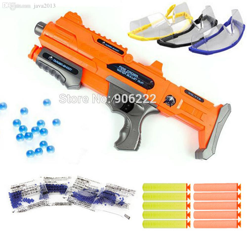 Wholesale Kids Gun Toy Paintball Nerf Bullet Gun Shooting Water Crystal Gun  New Model Toy Guns Christmas Gift Bags Cheap Toys For Christmas From  Java2013, ...
