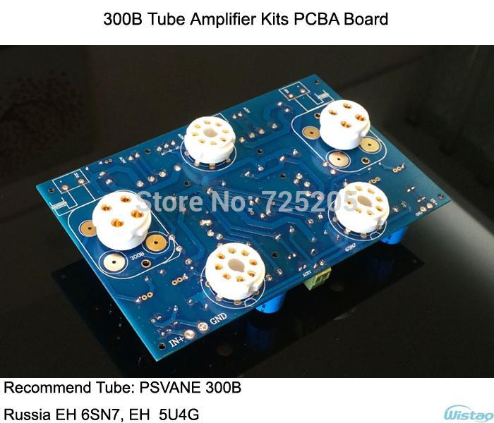 Tube Amplifier Kits PCBA Board 300B Steteo Power Stage 6SN7 Preamp ...