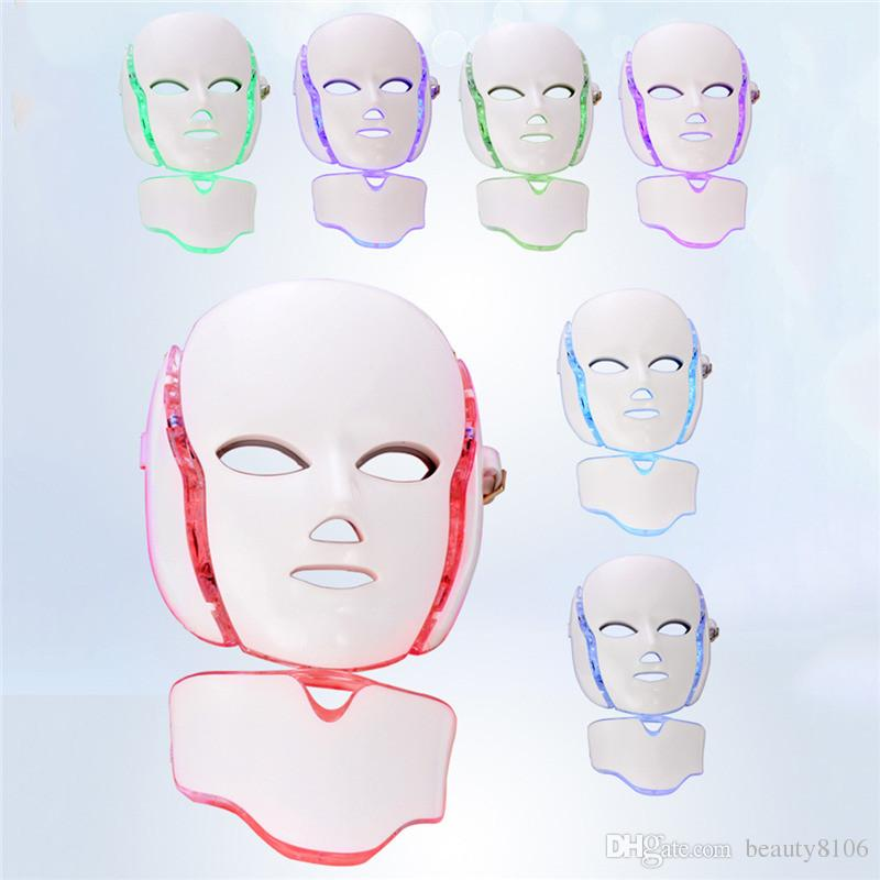 Professional Photon LED Facial Mask Skin Rejuvenation Anti-Aging Beauty Therapy Light for Home Use Beauty Instrument