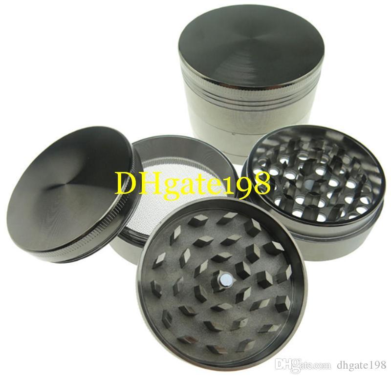 40mm / 50mm / 55mm / 63mm 4 Teile zicn Legierungskraut-Schleifer für den rauchenden Kräuterrauchenden Schleifer des Tabaks Großhandels