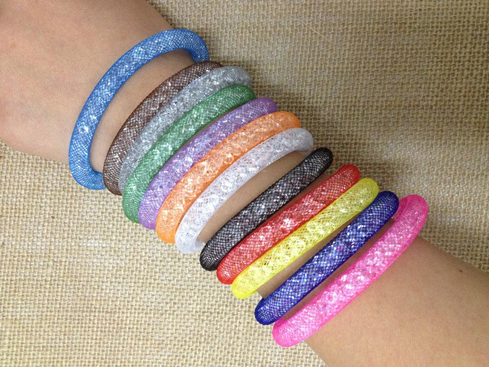 2020 2015 New Mesh Stardust Bracelets Chain With Full