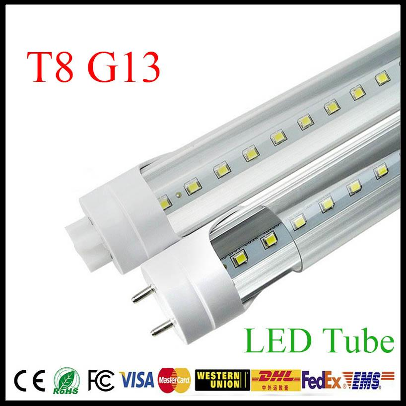 Review 2 3 4 ft LED T8 Tube Lights Bulbs SMD2835 High Bright Tubes Frosted Transparent Cover Photos - Fresh fluorescent light bulb covers Contemporary