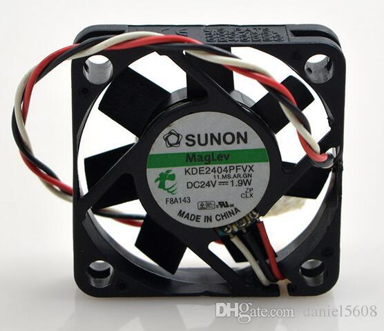 SUNON KDE2404PFVX 24V 1.9 W 4010 4 см 3 провода mute инвертор вентилятор