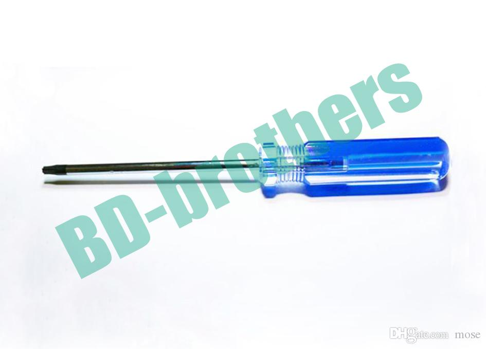 T15 T20 T25 T27 With Hole Torx Screwdriver Key PVC Colorized Bar Handle Screwdrivers Repair Tool Wholesale