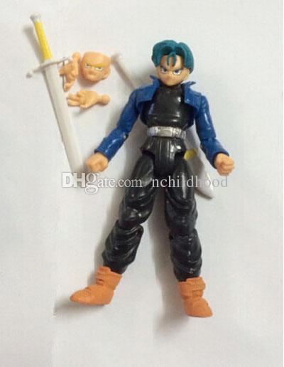 Chaude Amine Dragon Ball Z 12-14 cm Freeza Piccolo Végéta Troncs Son Gohan Kuririn / ensemble PVC Figurines