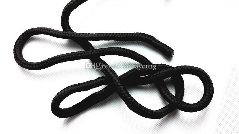 BDSM Restricciones Sexuales Atar Para La Cuerda de Bondage Shibari Kinbaku Tortura Arte Cord Adultos Juguetes Sexuales Productos Negro XLYSM0018