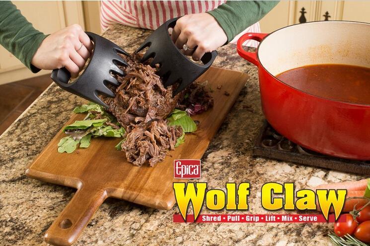 Grizzly Bear Paws Claws Fleisch Handler Gabelzange Pull Shred Schweinefleisch BBQ Grill-Tool