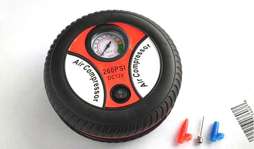 24PCS Mini Car Tire Inflator Insurance Tire Pump 19 Cylinder 12 V Mini Play Pump Car Air Pump Electric Inflator