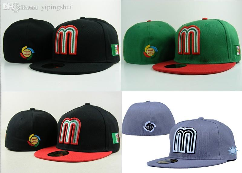 Wholesale Mexico National Team Baseball Cap Whole Sealing Cap Hiphop