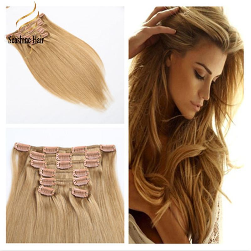 100 Genuine Human Remy Clip In Hair Extensions Clip On Extension