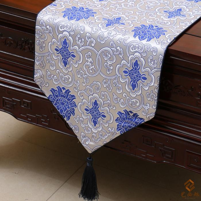 Good Lucky Fancy Table Runners Cover Cloth Chinese Style Luxury Damask High End  Table Cloths Dining Table Pads For Christmas Home Decoration