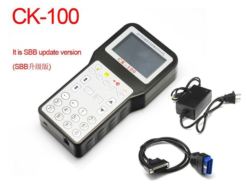 Vendita calda! Programmatore chiave ck100 sbb di nuova progettazione CK100 CK100 V99.99 key maker CK 100 Spedizione gratuita