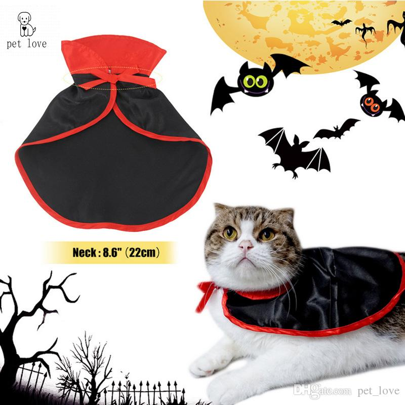 2017 Pet Love Pet Halloween Costume V&ire Cloak Decoration Lightweight Material Classic V&ire Modeling Magical Colors Cat Costumes For Pets Cat Costumes ...  sc 1 st  DHgate.com & 2017 Pet Love Pet Halloween Costume Vampire Cloak Decoration ...