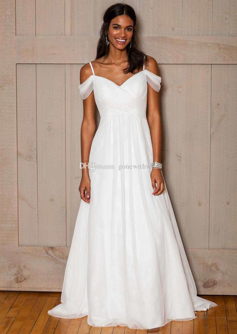 Discount Off The Shoulders African Wedding Dresses 2017 A Line ...