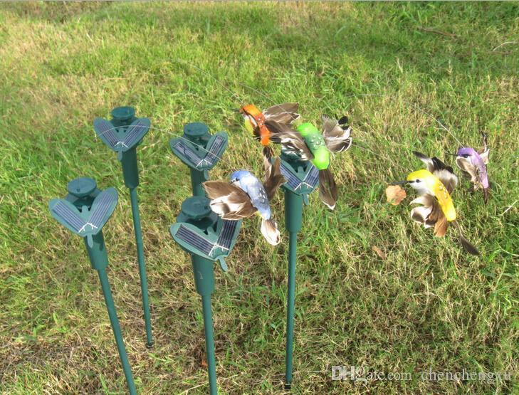 Solar Hummingbird Hummingbirds Garden Toys Solar Bird Emulation Bird ...