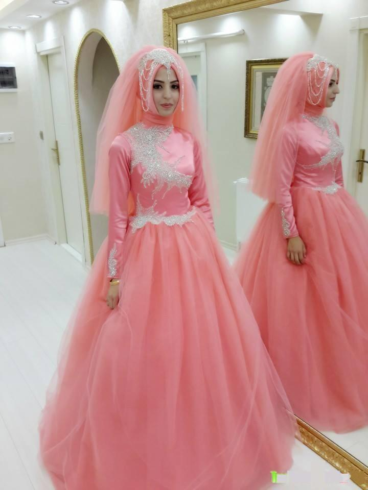 Pink wedding dresses online wedding ideas for Cheap wedding dresses in dubai