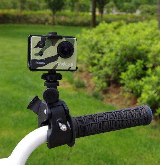 2018 Action Camera Accessories Camera Bike Clip Bicycle Stand Clip