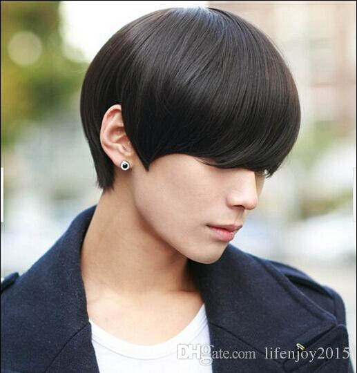 2018 America And Europe Hot Sell Mens Wigs Short Hair Men