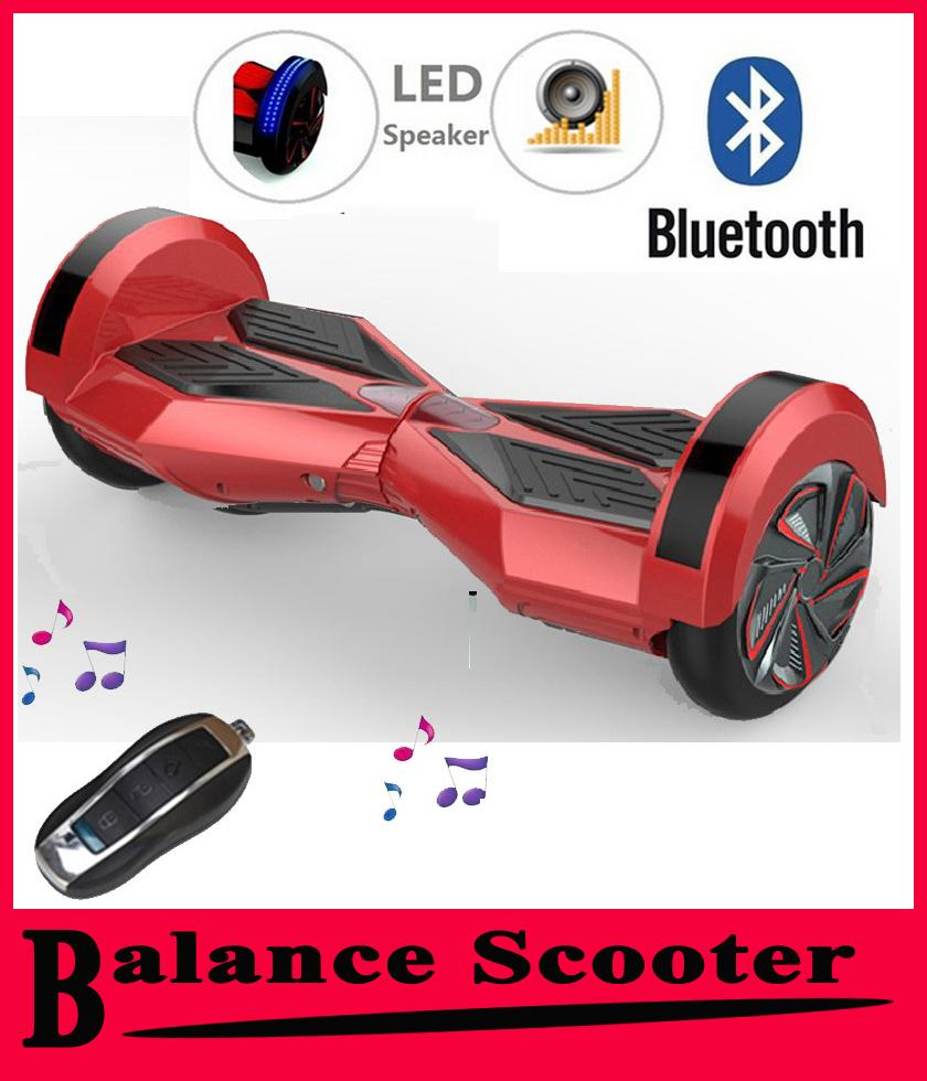 Hoverboard Plans Hot Bluetooth Speaker Smart Hoverboard 2 Wheel Electric Scooter