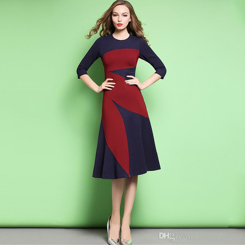 High Quality Top Fashion Summer Celebrity Women Dresses Street Style