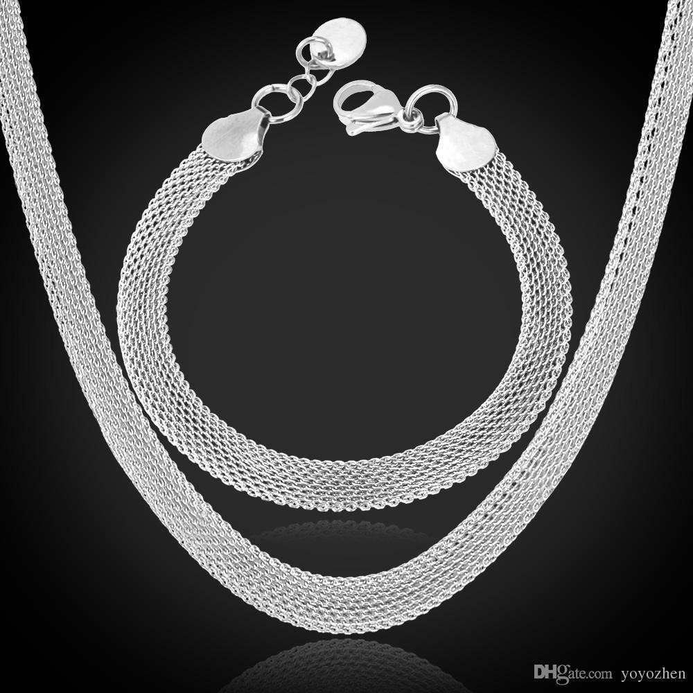 18K'Stempel Frauen-Qualitäts-Gold füllte Chunky Halsketten Ketten 18K reales Gold überzog Figaro Halskette 5MM 50CM