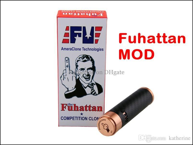Fuhattan Mechanical Body Mod AmeraClone Technologies for 18650 18350 E Cigarette Battery as Manhattan Mod for Aspire Nautilus Atlantis Tank