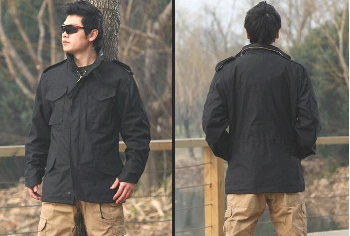 Tactical Army Marine Corps Coats Waterproof Resistant M 65
