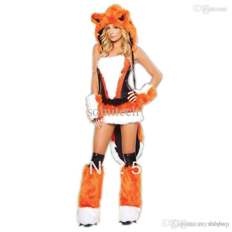 Compre Disfraces De Halloween Para Chicas Wholesale Naranja De La
