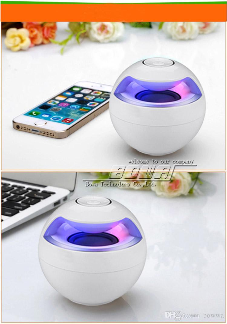 AJ-69 Portable Best Wireless Bluetooth Speaker with mic & subwoofer loudspeakers music speakers sound Audio For iphone 4 5 6 iPod