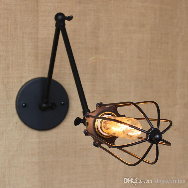 vintage wall lamp Industrial Country Loft Antique lights American Classic Sconce for Home Indoor Bedside Retro Cheap Lighting