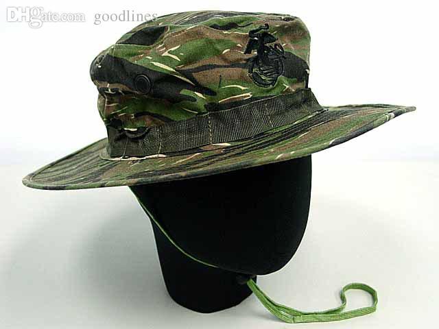 Wholesale-SWAT Tiger Stripe Camo Jungle Woodland Boonie Hat Cap Cap Sleeve  Red Dress Cap Hat Cap Han Online with  22.94 Piece on Goodlines s Store  ec99c0d44b8
