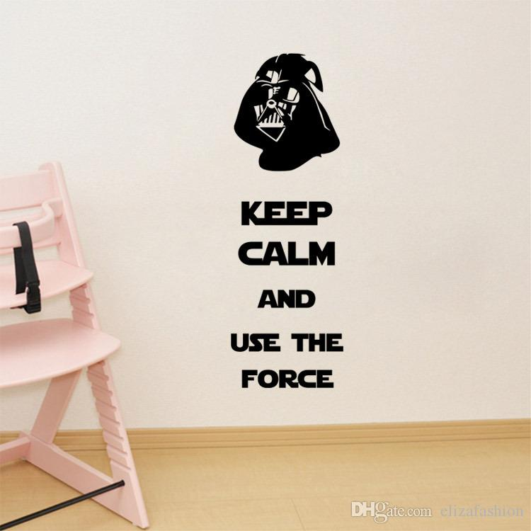 Star Wars Wall Decals Darth Vader Removable 3d Wall Sticker Home Decor Art  Kids Room Decorations In Stock Bedroom Decals For Walls Bedroom Stickers  From ... Part 44