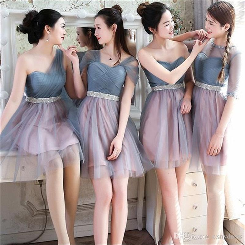 New for 2018 Short Wedding Party Dresses