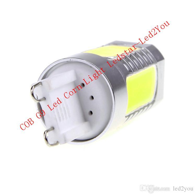 High Power 8W G9 Led Spot Lights COB Led Corn Lights Led Bulb Pieces For Indoor Lighting AC 85-265V