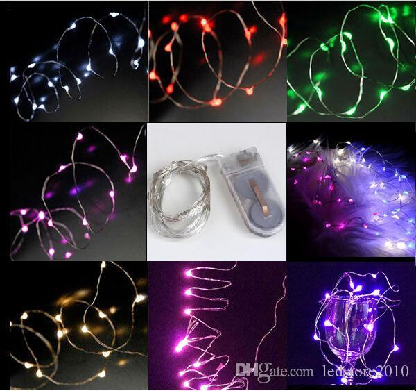 Cr2032 Battery Operated 2m 20leds Micro Led Fairy String