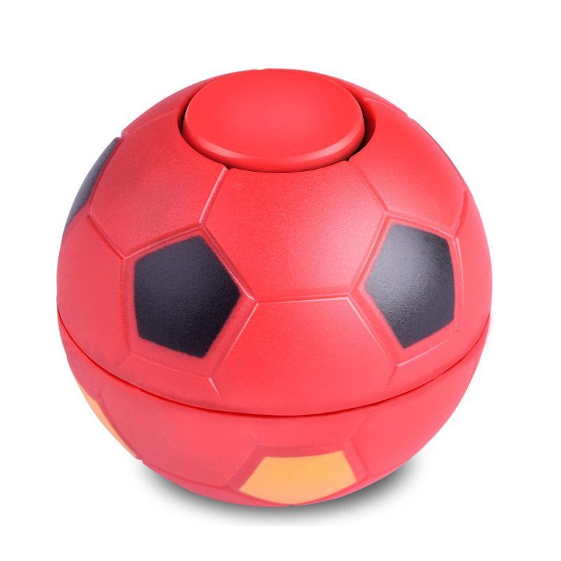 2017 el más nuevo ABS hand spinner football basketball spinner dedo football fidget ball con silbato juguetes con bolso de opp DHL envío gratis