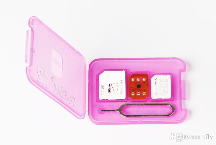 Christmas Rsim 12 r sim 12 RSIM12 unlock card v9.6 for iphone x 8 7 plus and i6 unlocked iOS 11 ios 11.x-7.x 4G CDMA GSM WCDMA SB AU SPRINT