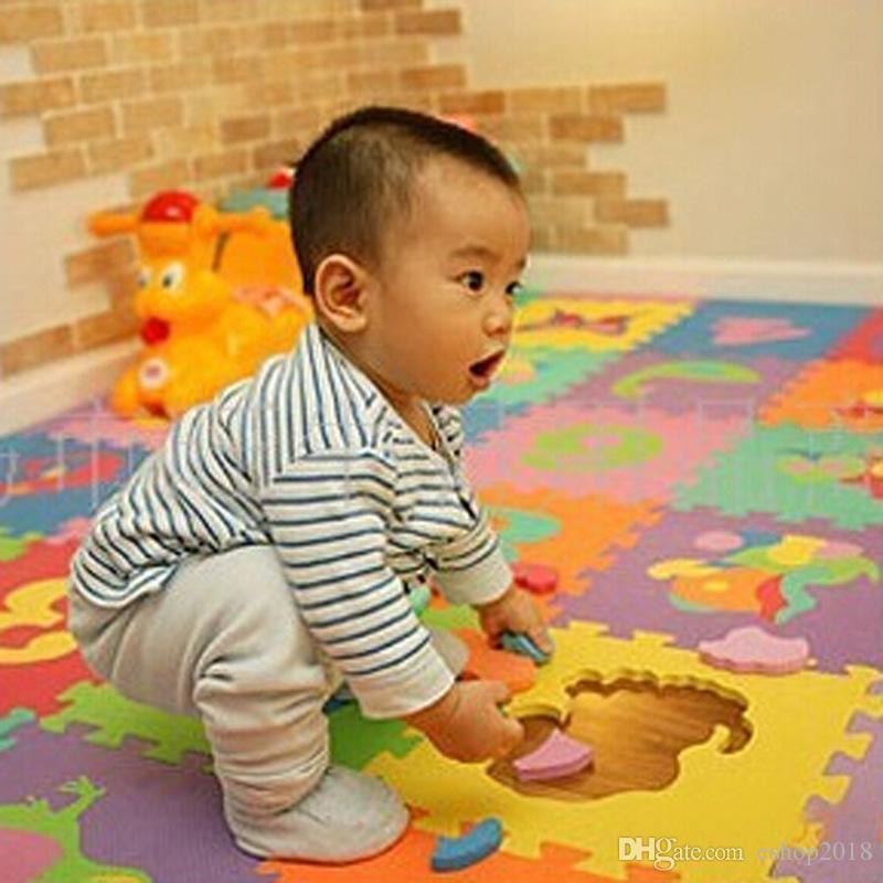 Baby Child Split Joint Number Animal Eva Foam Puzzle Mat