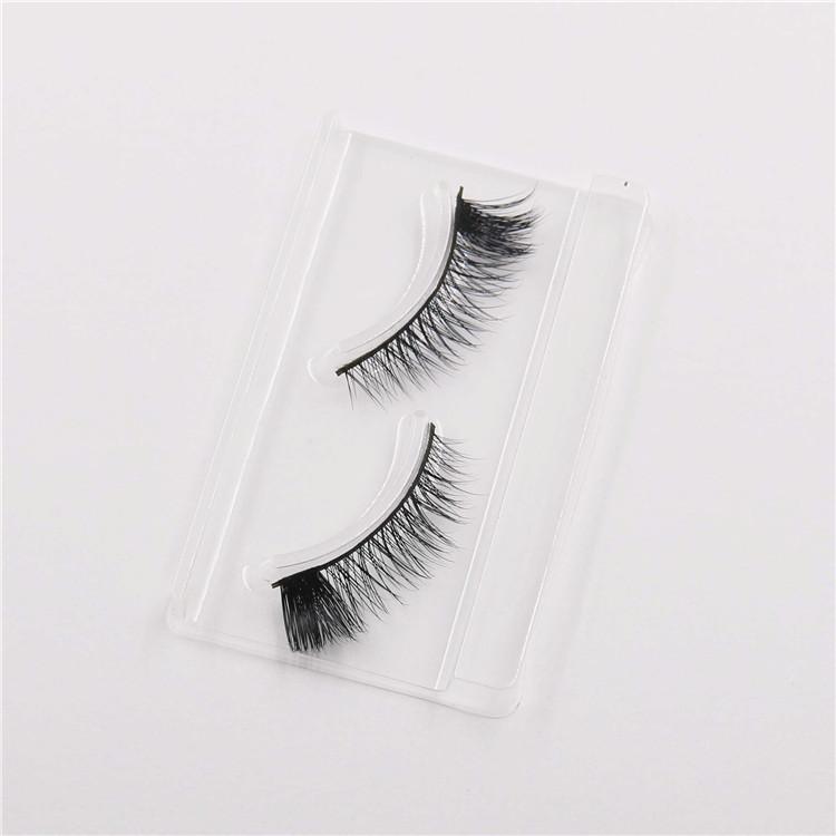 Mink Hair False Eyelashes Handmade Natural Long Thick 3D Eyelashes Fake Eye Lash extensions Black Beautiful Eye end extended Eyelashes #L3