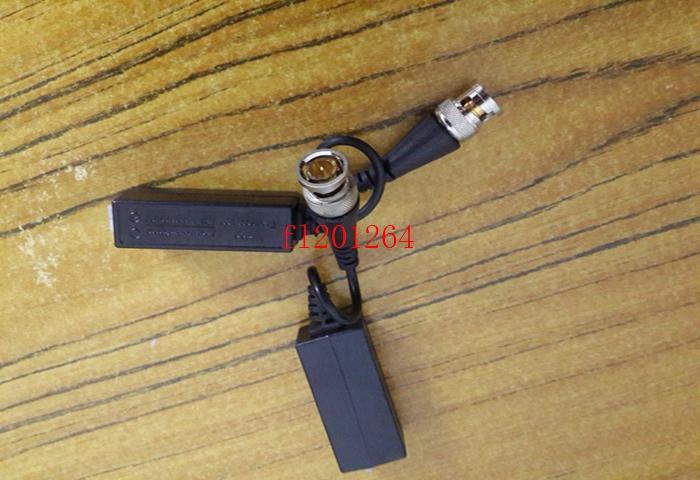 500 шт. / лот Бесплатная доставка супер анти-помех пассивный видео трансивер CCTV через витые пары видео Балун кабель