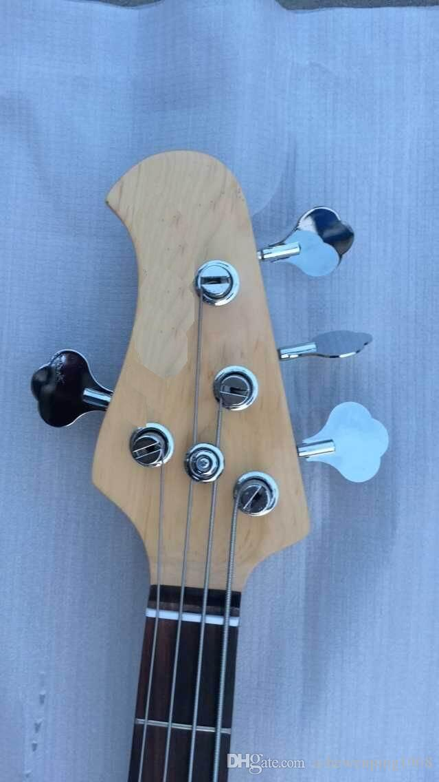 New Arrival HOT SALE ernie Hot sale Way 4 strings electric bass ball green in left handed 150710