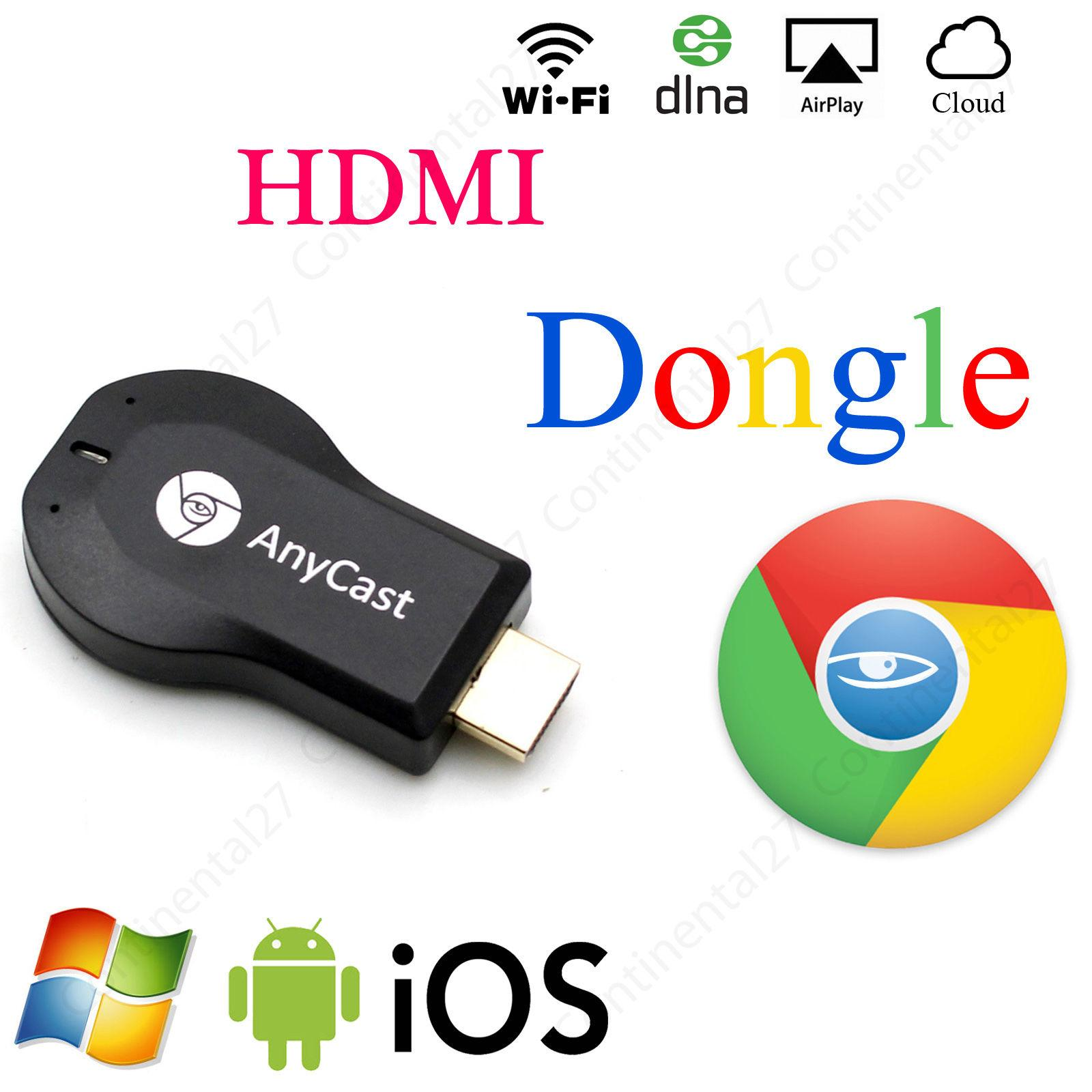Latest Hdmi 1080p Anycast Ezcast Ez Cast Wifi Dongle For