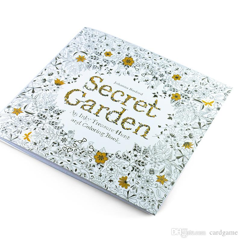 New Prettybaby Secret Garden Coloring Book Painting Drawing Book