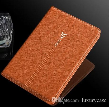 삼성 T810 케이스 지갑에 대 한 캐주얼 삼성 갤럭시 탭 S2 9.7 SM T810 T815에 대 한 럭셔리 다채로운 원래 플립 가죽 케이스