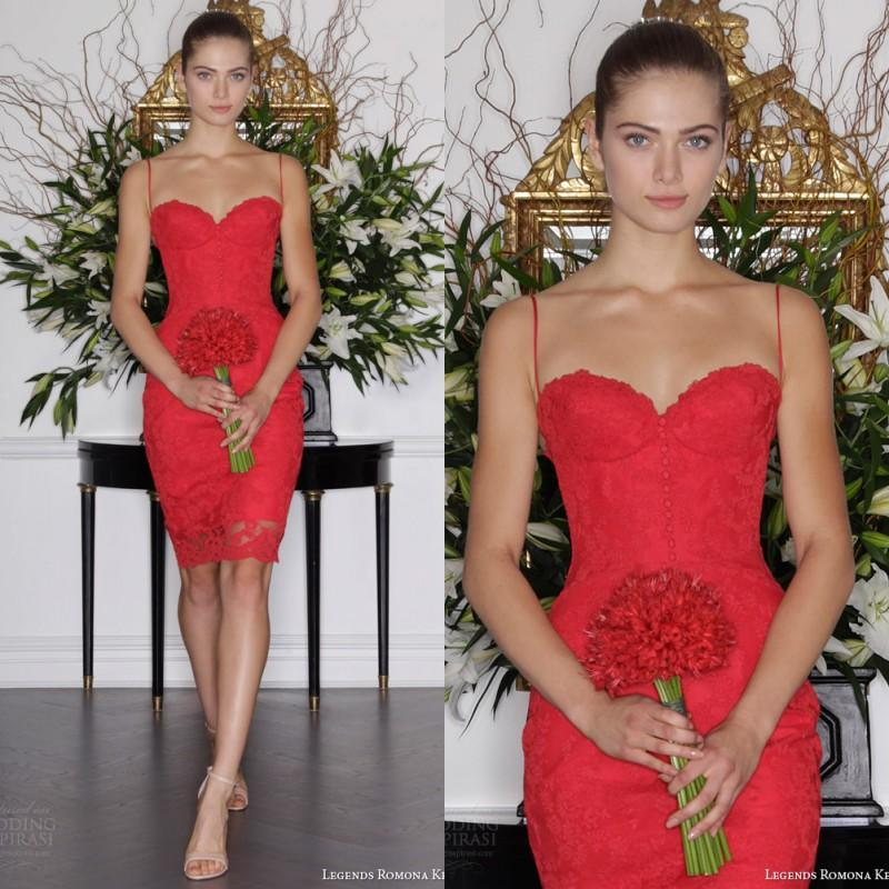 52f08b9d2a 2016 New Arrival Informal Short Red Wedding Dresses Sheath Fitted  Sweetheart Neckline Spaghetti Straps Knee Lenth Sexy Cocktail Party Gowns  Grecian Wedding ...
