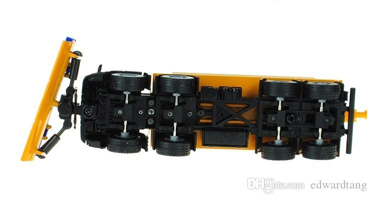 Big Size Alloy Truck Model Toy,Snow Clearer Toy,Sowplows Model, 1:50 Proportion, Precision Super Simulation Vehicles Model,for Gift,Collect